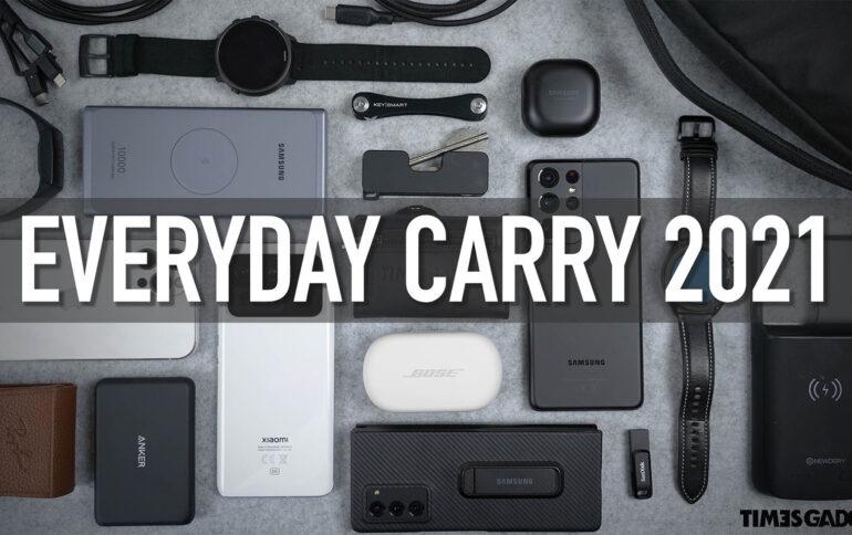 EVERYDAY CARRY 2021.  Gli accessori che utilizzo tutti i giorni