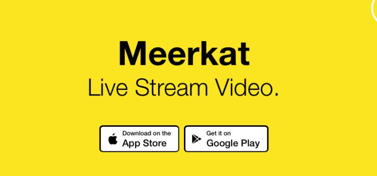 Meerkat per iOS, live streaming dalla GoPro