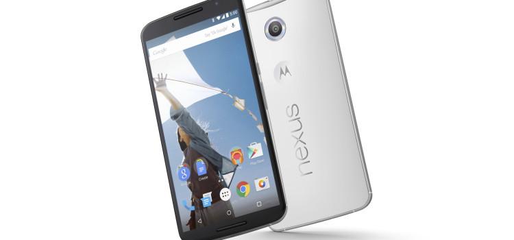 Nexus 6 bianco a 399€ disponibile on line