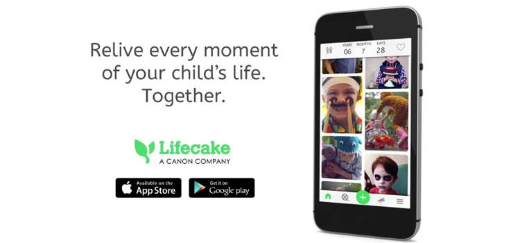 Lifecake: l'app di Canon per custodire foto e video in un unico posto