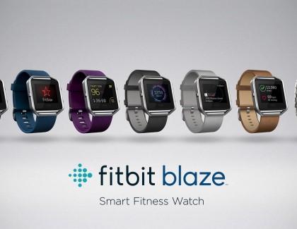 Fitbit Blaze la risposta ad Apple Watch