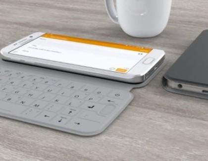 SlimType: nuova cover con tastiera fisica per Galaxy S6 e S6 Edge
