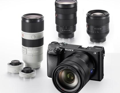 Sony presenta la nuova mirrorless A6300 e tre nuovi obiettivi GM FE