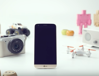 LG G5 in colorazione Gold si mostra in video ufficiale