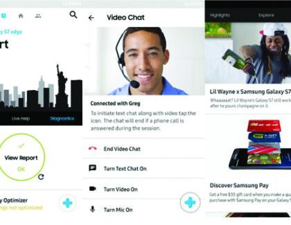 Arriva l'app Samsung+ che introduce il supporto diretto e offerte personali