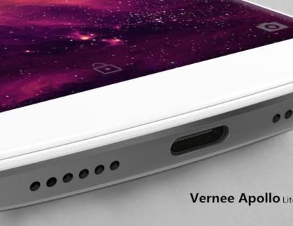 Vernee Apollo Lite con USB Type C per ascoltare la musica