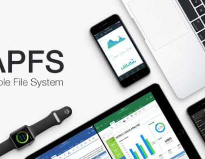 Il nuovo file system di Apple APFS