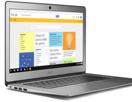 Acer Chromebook 14 disponibile in Italia con supporto al Play Store