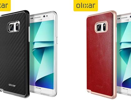 Galaxy Note 7, emergono le prime cover Olixar e confermano il display dual edge