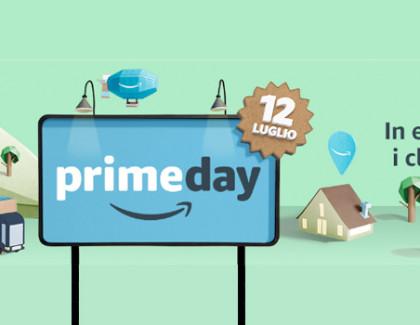 Amazon Prime Day: il 12 luglio oltre 100.000 promozioni