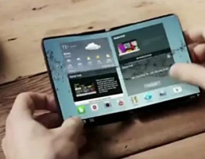 Samsung deposita i brevetti per smartphone e tablet pieghevoli