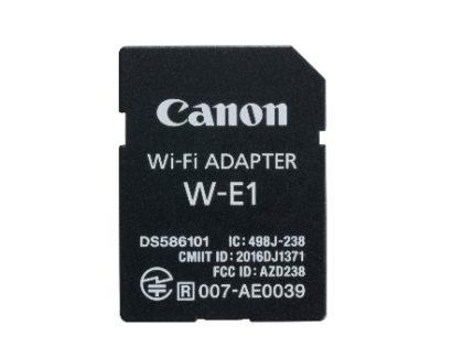 Canon presenta il nuovo adattatore Wifi W-E1 per trasferire velocemente le foto