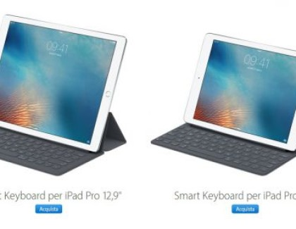 iPad Pro: disponibile la Smart keyboard internazionale