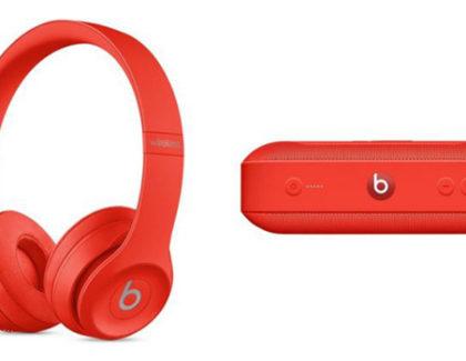 """Apple lancia le Beats Pills e Solo 3 Wireless in versione """"Citrus red"""""""