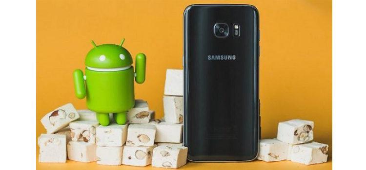 Android Nougat Beta in rollout per Galaxy S7 Edge nel Regno Unito