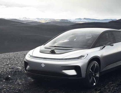 Faraday Future FF 91: auto elettrica con 1050 cv e autonomia da 700km