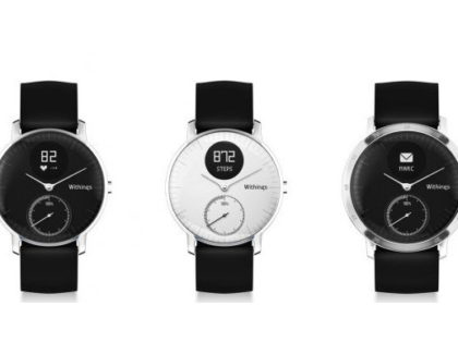 Withings presenta lo Steel HR aggiornato al CES2017