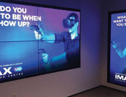 IMAX apre la prima sala con la realtà virtuale