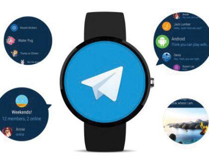 Telegram arriva su Android Wear 2.0 con nuove funzioni e maggiore velocità