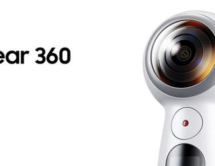 Samsung presenta la nuova Gear 360 (2017), nuove funzioni e compatibilità con iOS