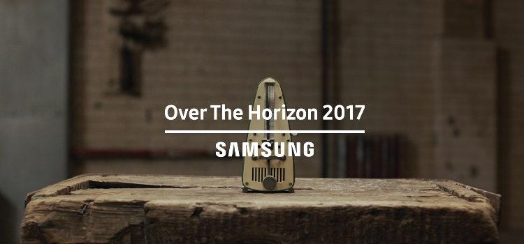 La nuova suoneria del Galaxy S8 in video, Over The Orizon