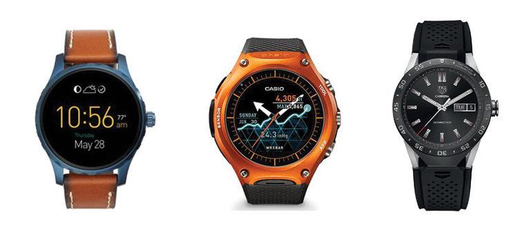 Android Wear 2.0 arriva sugli smartwatch Casio, Fossil Q e TAG Heuer