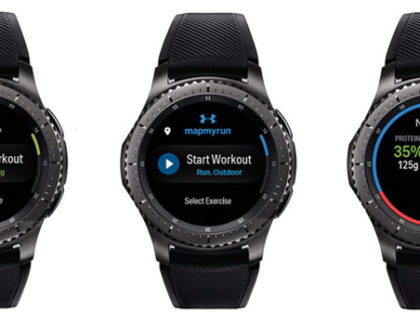 Le app Under Armour arrivano sui Samsung Gear