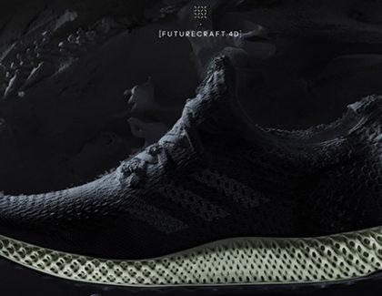 Adidas Futurecraft 4D, scarpa innovativa realizzata con una stampa 3D