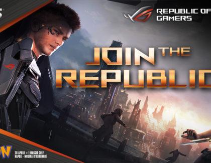 ASUS a Napoli Comicon con il meglio del Republic Of Gamers