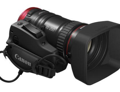 Canon presenta un nuovo obiettivo cine-servo, il CN-E70-200mm