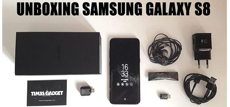 Unboxing del Samsung Galaxy S8 e primo confronto con iPhone 7 e Galaxy S7 Edge