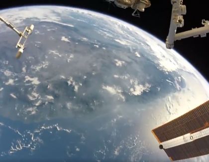 Video della terra dalla ISS ripreso con una GoPro | video