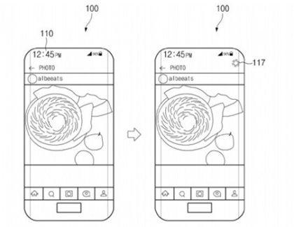 Samsung brevetta un device full screen con sensori e camera sotto il display