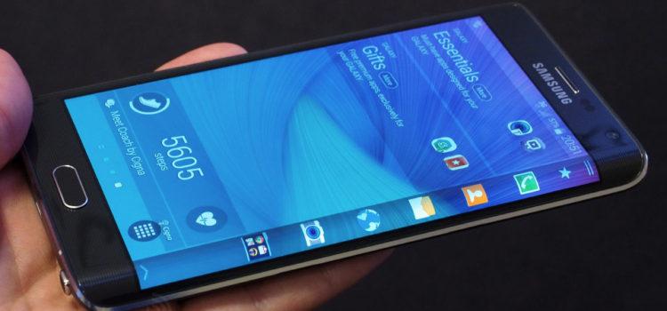 Samsung brevetta un display avvolgente che copre anche il retro del device