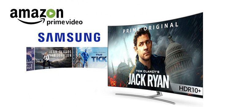 Amazon Prime Video, da domani in streaming HDR10+ sulle TV Samsung