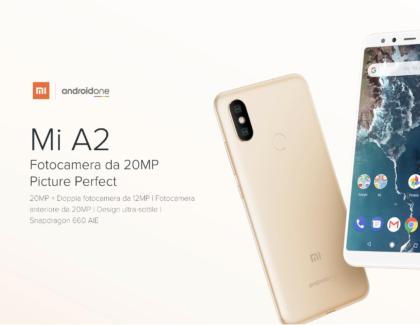 Xiaomi Mi A2 in offerta su Amazon a 239 euro