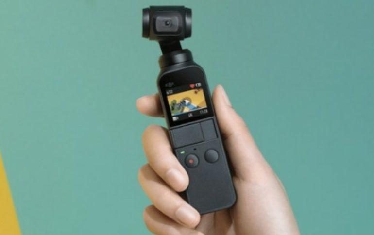 Ecco il nuovo DJI Osmo Pocket: cam compatta con gimbal a 3 assi