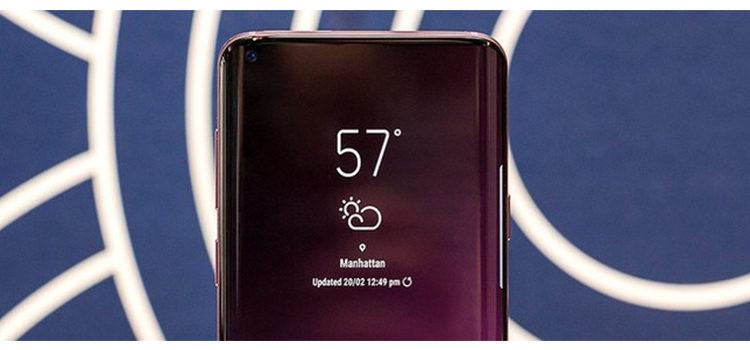 """Galaxy S10: display OLED """"HIAA"""" e retro in ceramica"""