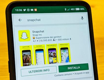 Snapchat, cambiamenti in vista. Snap permanenti o più duraturi