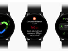 Samsung Galaxy Watch Active: nuovo smartwatch senza ghiera e display da 1,1″