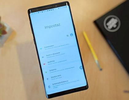 Galaxy Note 9 e Galaxy S7 iniziano a ricevere le patch di febbraio