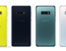 Galaxy S10: confermate le colorazioni e dimensioni