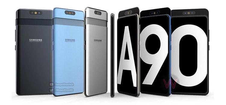 Confermato il Galaxy A90 con cam che potrebbero ruotare su se stesse
