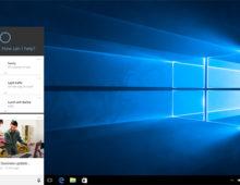 Microsoft mostra la nuova app di Cortana per Windows 10