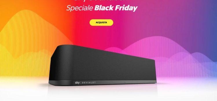 Sky Soundbox: la soundbar in offerta a 149 e 199 euro