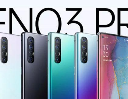 Oppo Reno 3 e 3 Pro. Nuove immagini e caratteristiche