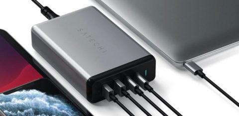 Satechi lancia il caricatore da 108W con doppia uscita USB-C a 79$