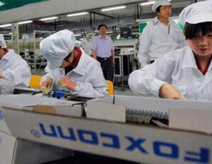 Coronavirus: Foxconn chiede ai dipendenti di non andare a lavoro